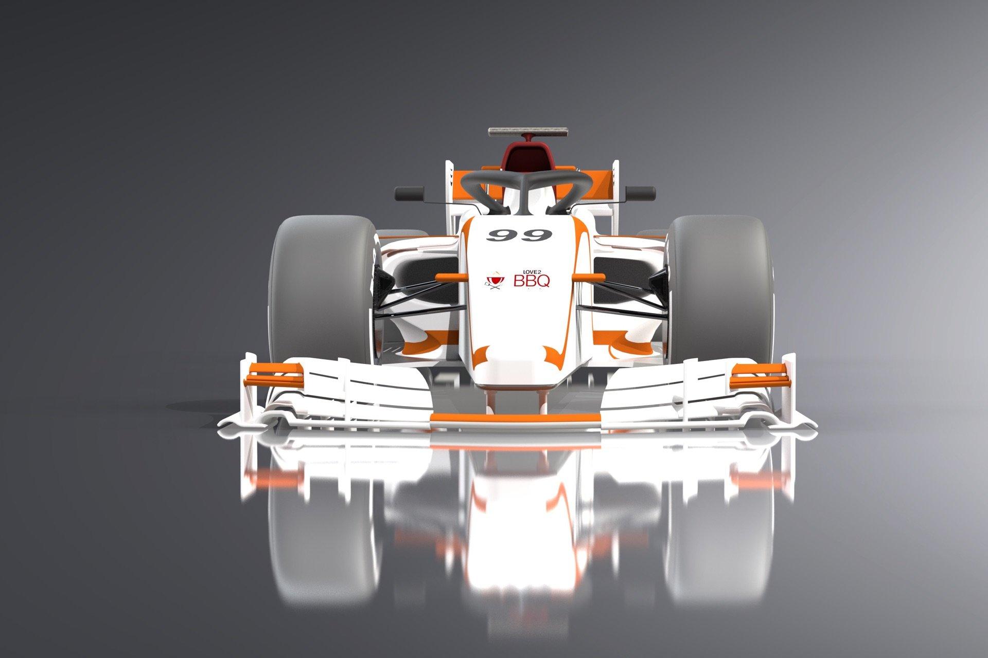 Love2BBQ F1 Car