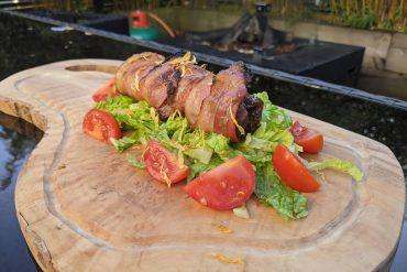 Cooked Kangaroo Kebab